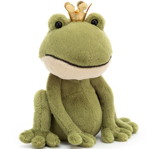 Medium Felipe Frog Prince JellyCat - D & D Collectibles