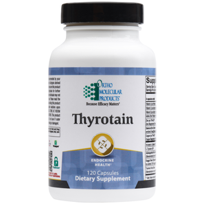 Ortho Molecular Thyrotain (120 Capsules) - D & D Collectibles