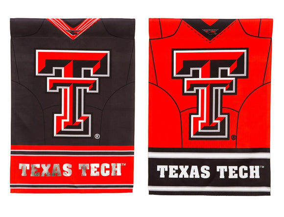 Texas Tech Garden Flag Suede - D & D Collectibles
