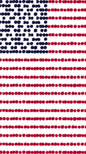 USA Americana Flag Paper Hostess Napkins - D & D Collectibles