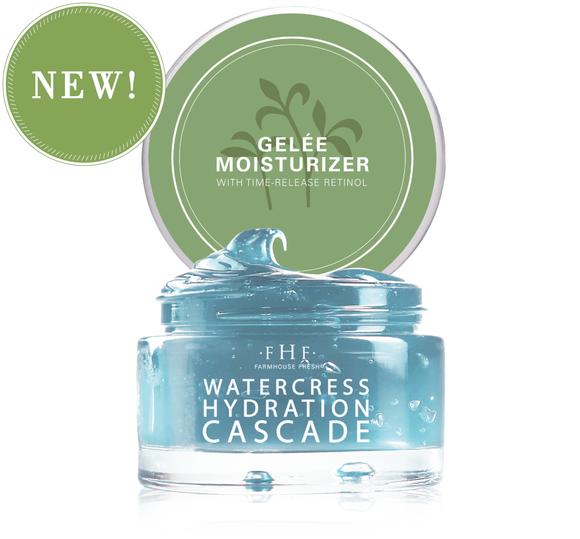 Watercress Hydration Cascade™ Gelée Moisturizer by FarmHouse Fresh - D & D Collectibles