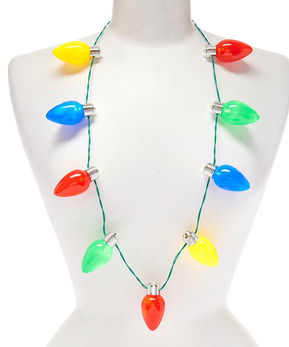 Jumbo Lotsa Lites Flashing Necklace
