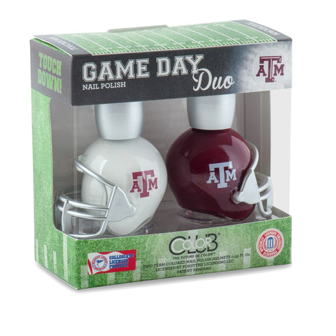 NCAA Game Day Duo Nail Polish - Texas A&M