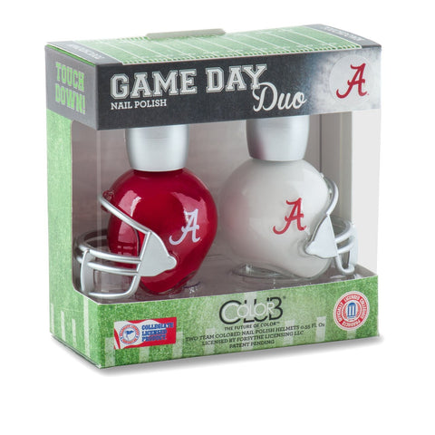NCAA Game Day Duo Nail Polish - Alabama