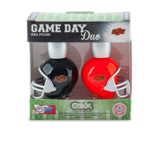 NCAA Game Day Duo Nail Polish - Oklahoma State