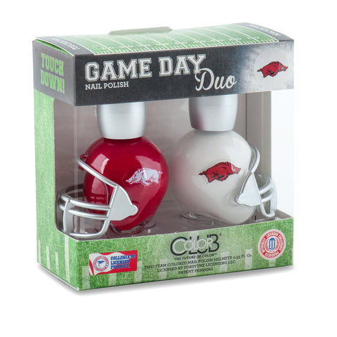 NCAA Game Day Duo Nail Polish - Askansas
