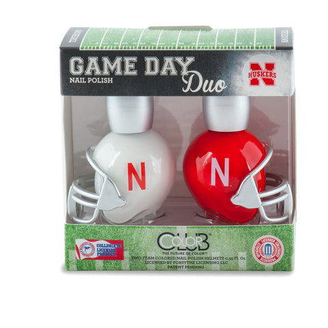 NCAA Game Day Duo Nail Polish - Nebraska