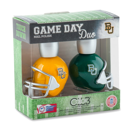 NCAA Game Day Duo Nail Polish - Baylor