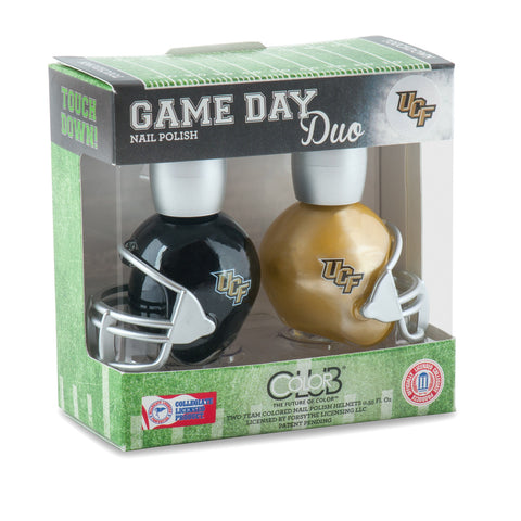 NCAA Game Day Duo Nail Polish - Central Florida