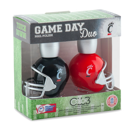 NCAA Game Day Duo Nail Polish - Cincinnati