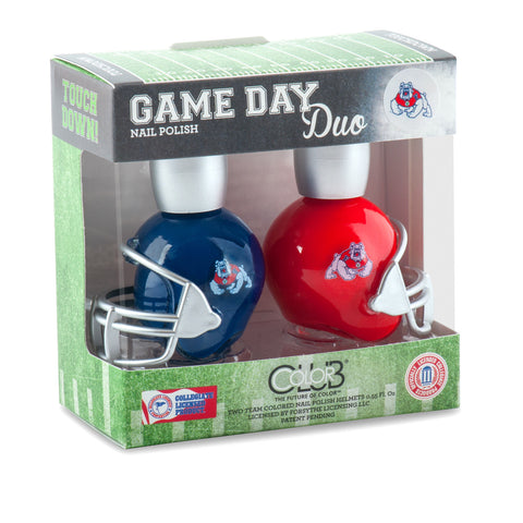 NCAA Game Day Duo Nail Polish - Fresno State