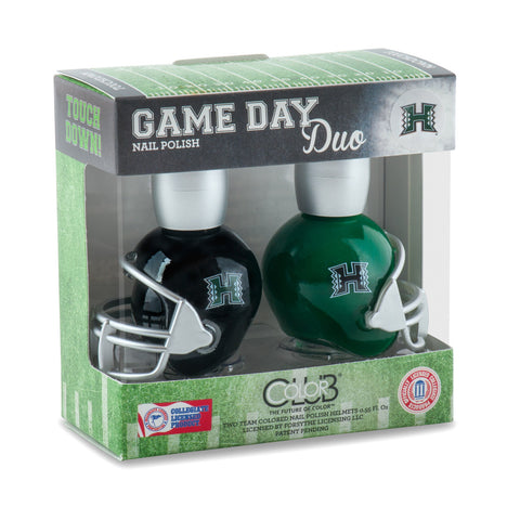 NCAA Game Day Duo Nail Polish - Hawaii