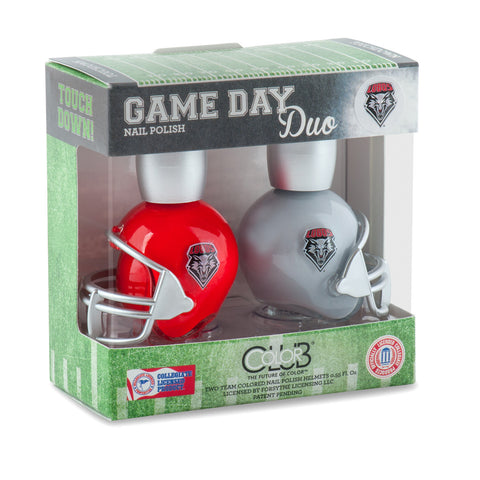 NCAA Game Day Duo Nail Polish - New Mexico