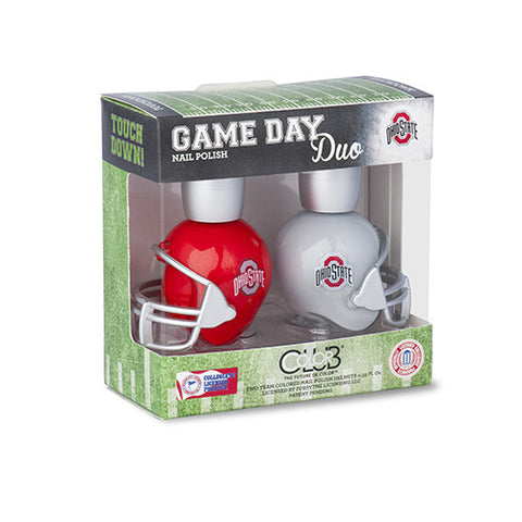NCAA Game Day Duo Nail Polish - Ohio State