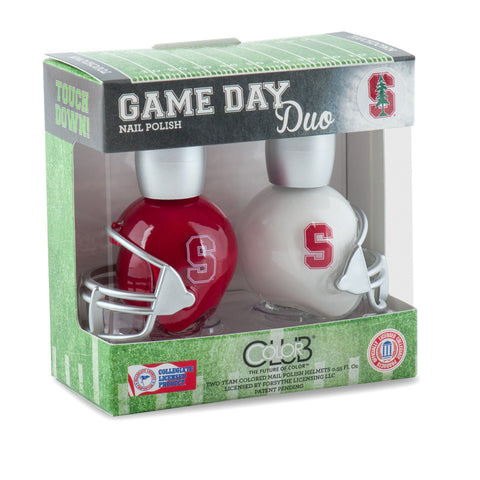 NCAA Game Day Duo Nail Polish - Stanford