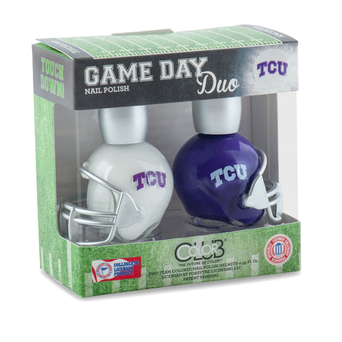 NCAA Game Day Duo Nail Polish - TCU