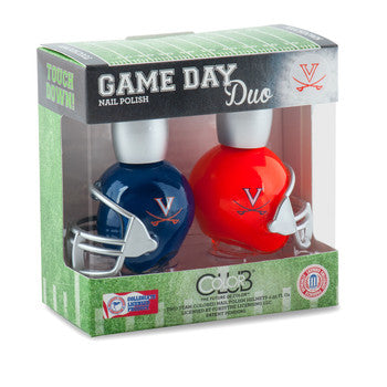 NCAA Game Day Duo Nail Polish - Virginia