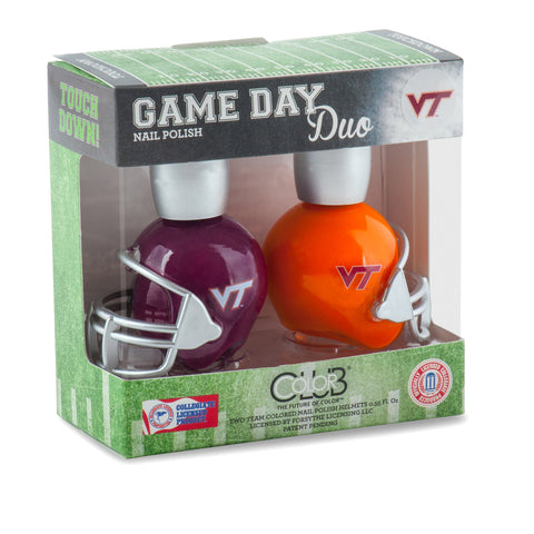 NCAA Game Day Duo Nail Polish - Virginia Tech