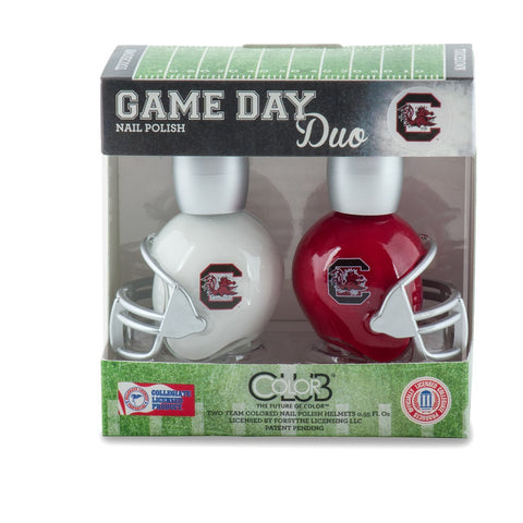 NCAA Game Day Duo Nail Polish - South Carolina