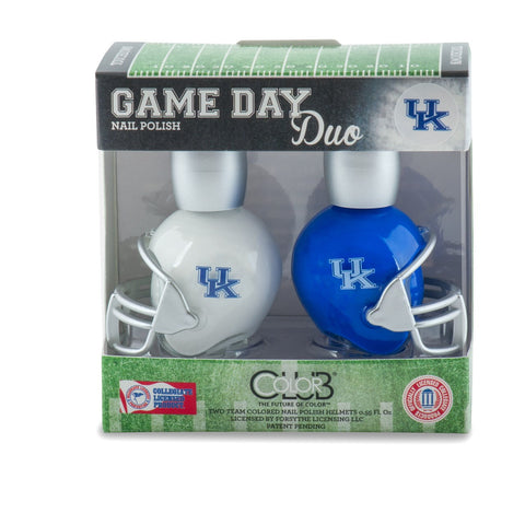 NCAA Game Day Duo Nail Polish - Kentucky