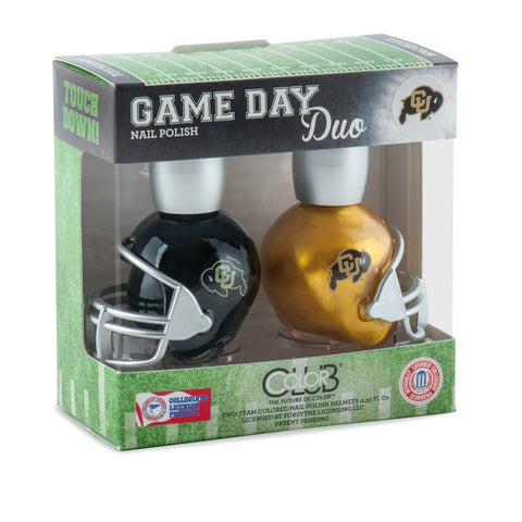 NCAA Game Day Duo Nail Polish - Colorado