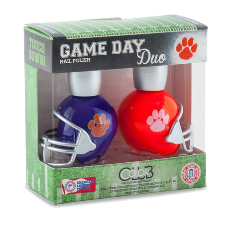 NCAA Game Day Duo Nail Polish - Clemson