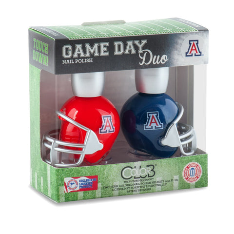 NCAA Game Day Duo Nail Polish - Arizona