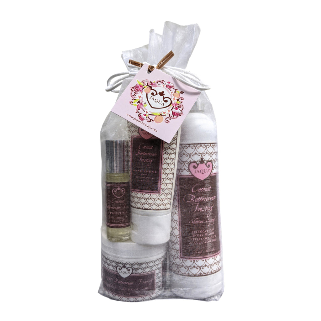 Jaqua Coconut Buttercream Frosting Valentine's Day Gift Set