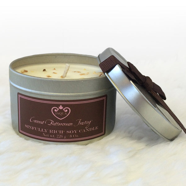 Sinfully Rich Coconut Buttercream Frosting Soy Candle