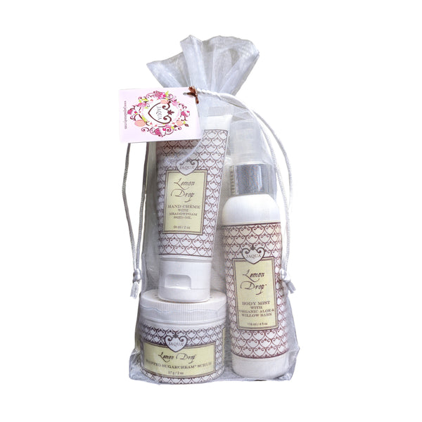 Lemon Drop Dreams Gift Bag Set