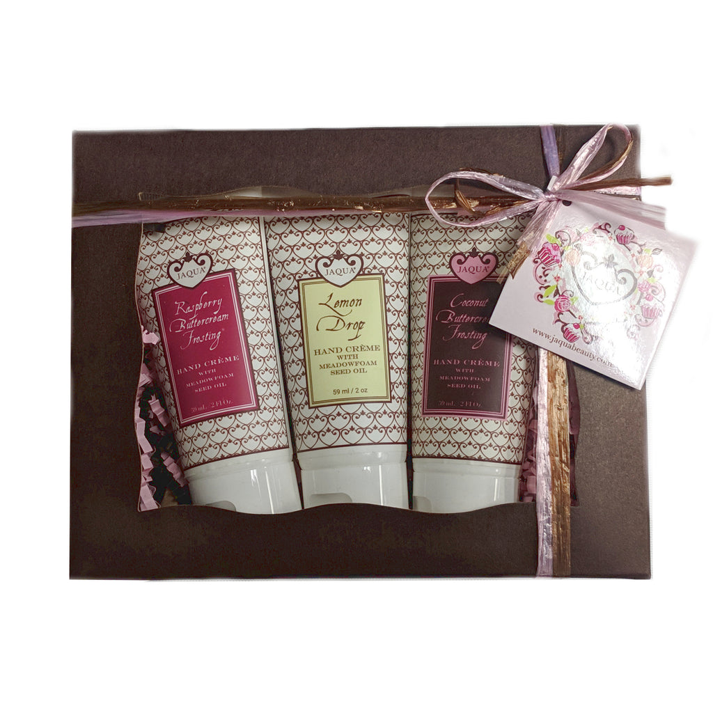 Lemon Coconut Raspberry Buttercream Hand Creme Gift Set