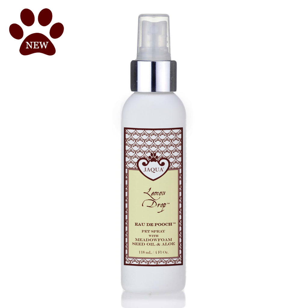 Lemon Drop Eau de Pooch Pet Spray with Organic Aloe & Meadowfoam Seed Oil