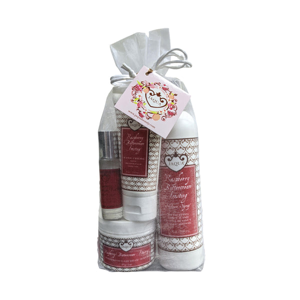 Jaqua Raspberry Buttercream Frosting Valentine's Day Gift Set