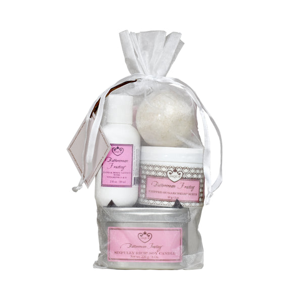 Buttercream Frosting Bath Time Gift Set
