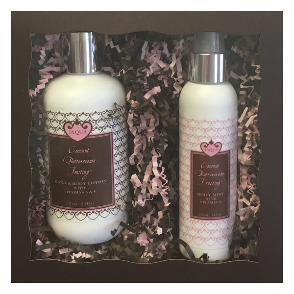 Coconut Buttercream Frosting Body Mist  Guilt Free Set