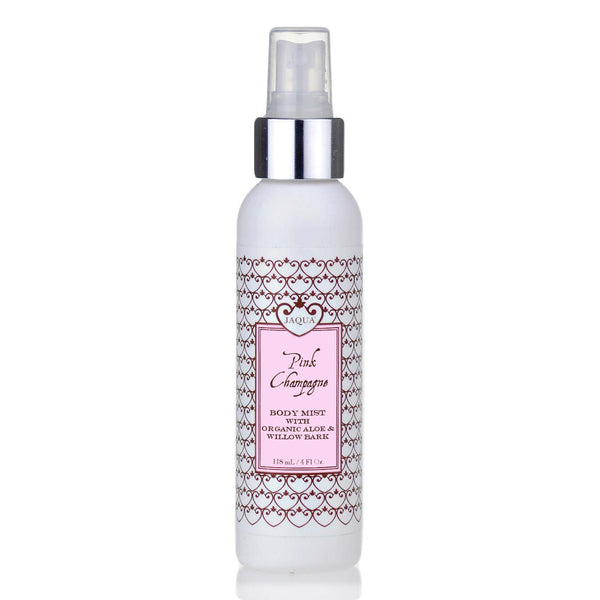 pink champagne organic body mist