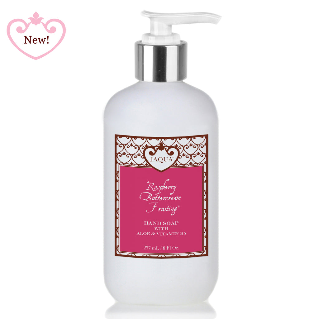 New Jaqua Raspberry Buttercream Frosting Liquid Hand Soap