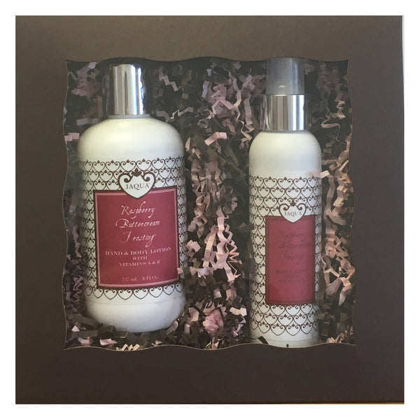 Raspberry Buttercream Frosting Body Mist Guilt Free Set