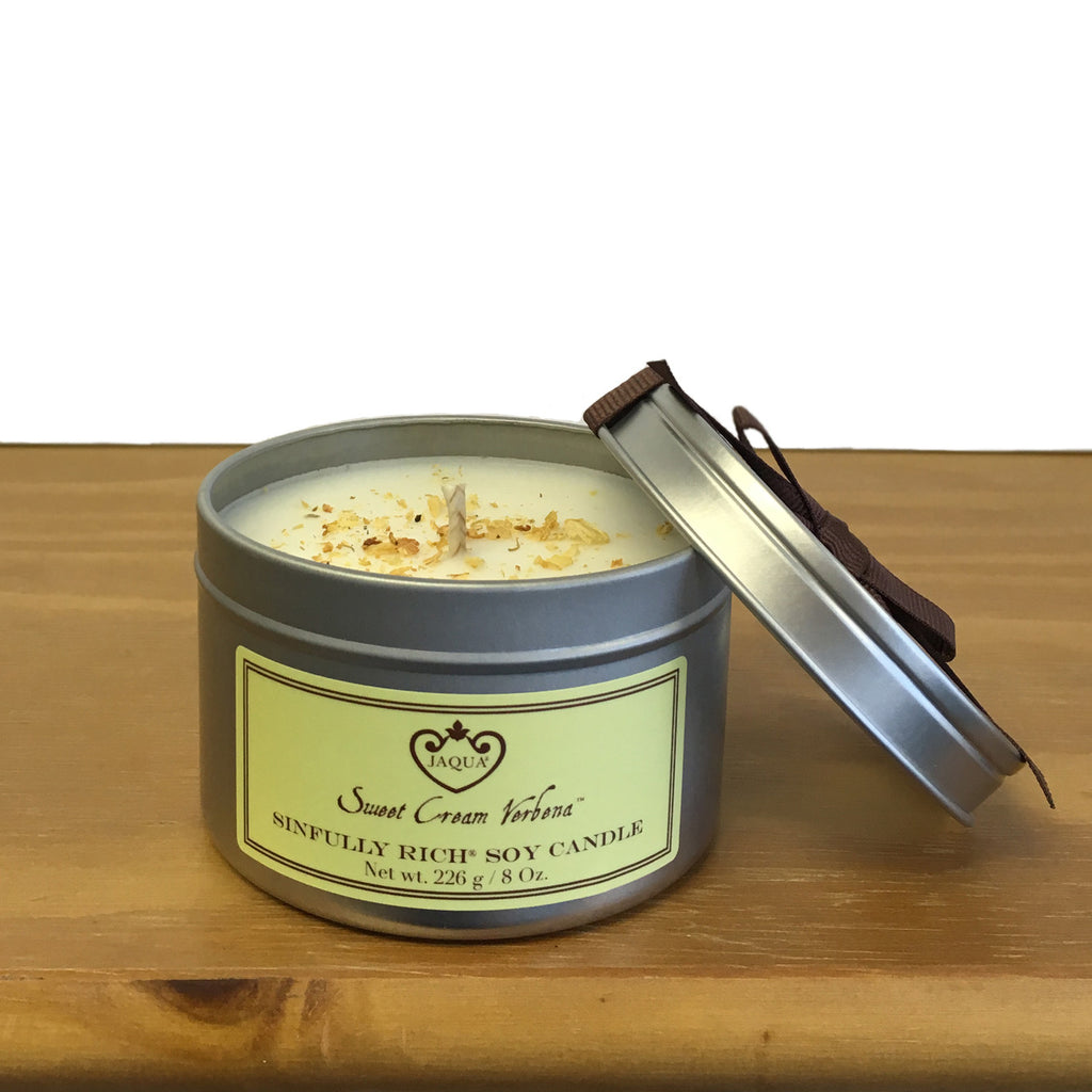 NEW Sinfully Rich Sweet Cream Verbena Soy Candle