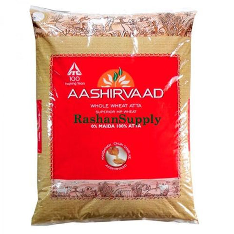 Aashirvaad Atta (Whole Wheat Flour) - 10Kg