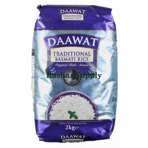 Dawat Traditional Basmati Rice 2Kg