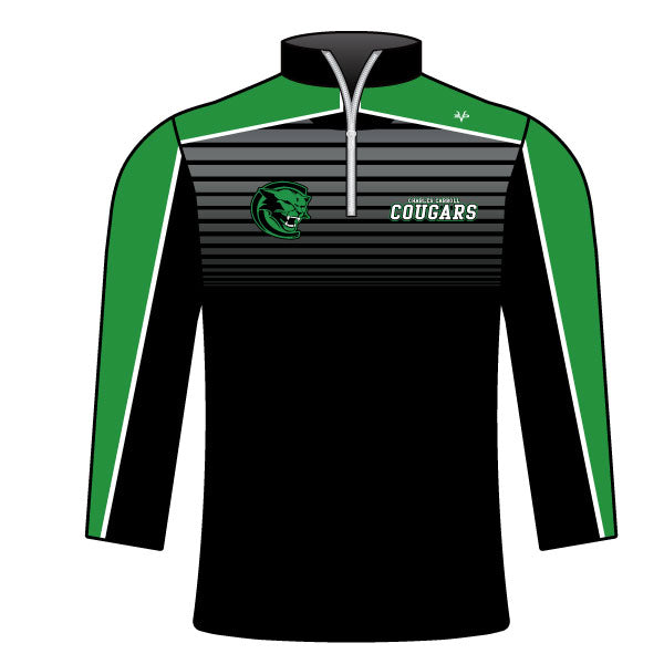 CHARLES CARROLL COUGARS 1/4 ZIP JACKET