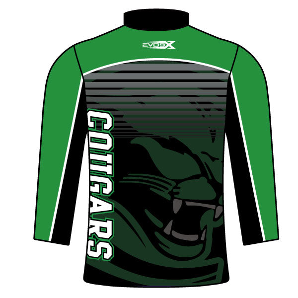 Evo9x CHARLES CARROLL COUGARS Sublimated Quarter Zip Jacket
