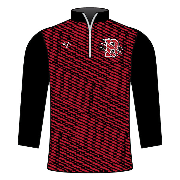 BEARCATS 1/4 ZIP JACKET