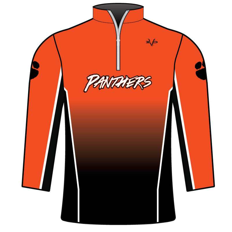 PANTHERS SUBLIMATED 1/4 ZIP