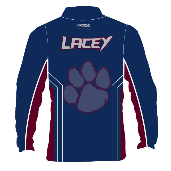 LACEY LIONS 1/4 ZIP JACKET