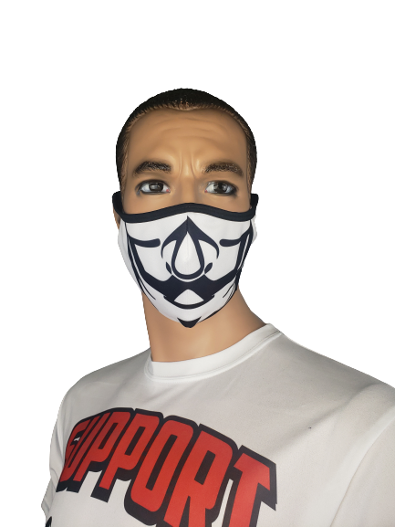 Evo9x MONEY HEIST Ear Loop Double Ply Fabric Face Mask
