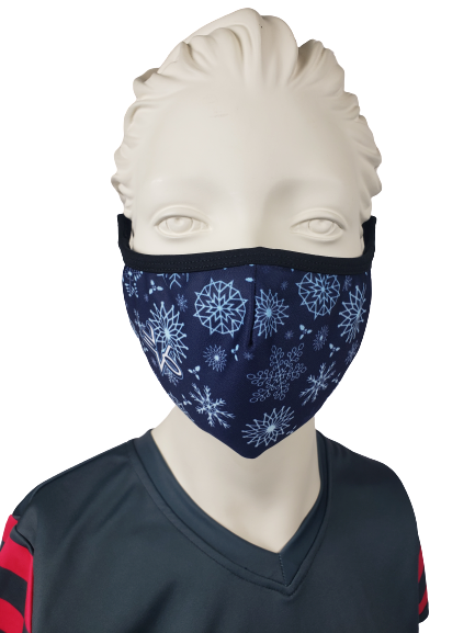 Evo9x WINTER Ear Loop Fabric Face Mask