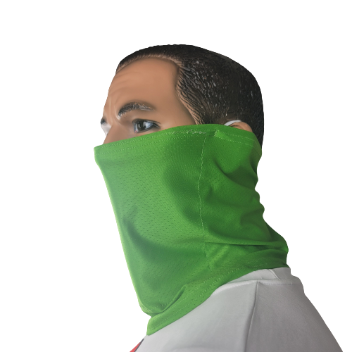 Evo9X NEON GREEN SAFETY Ear Loop Gaiters | Totally Customizable