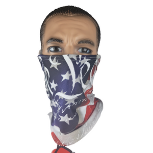 Evo9X FLAG Ear Loop Gaiters | Totally Customizable
